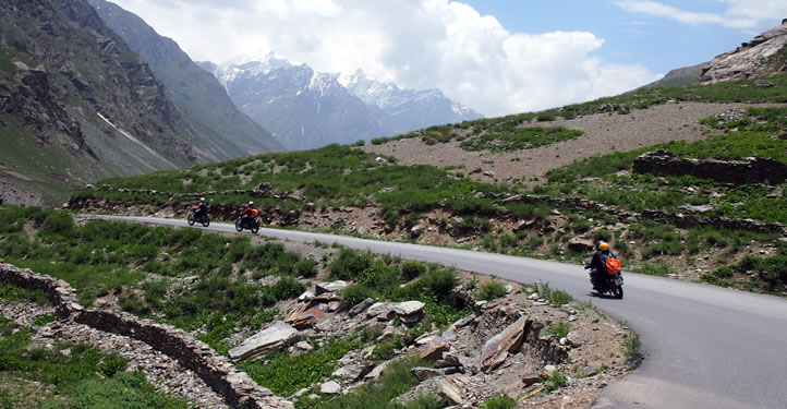 IN THE FOOTHILLS OF THE HIMALAYAS MOTORCYCLE TOUR
