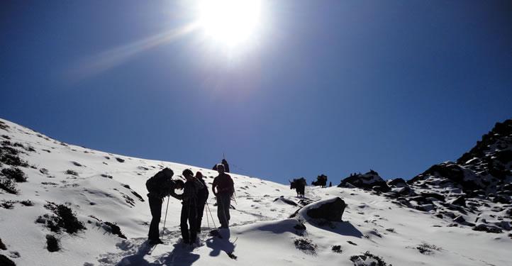Goechela via Yuksum Kangchenjunga Trekking