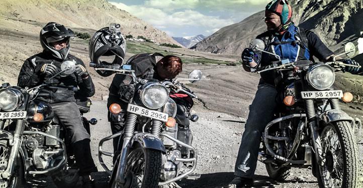 Royal Enfield Motorcycle Tour- Kinnour- Spiti